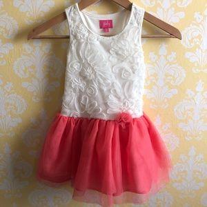Pinky girls tulle dress sz: 4Y